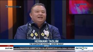 TKN: Performa Jokowi-Ma'ruf pada Debat Pertama Capres Sesuai Skenario