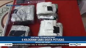 6 Kg Sabu-sabu dari Malaysia Disita Petugas