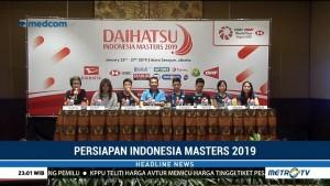 267 Pebulutangkis Dunia Siap Bersaing di Indonesia Masters 2019