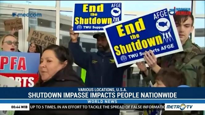 Shutdown Impasse Impacts People Nationwide