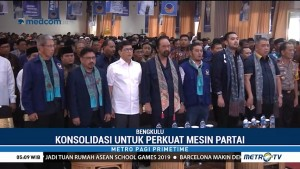 Konsolidasi Partai NasDem di Bengkulu