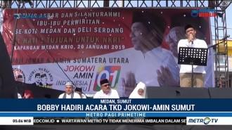 Bobby Nasution Ikut Kampanyekan Jokowi-Ma'ruf di Sumut