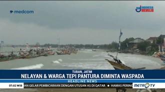 BMKG Tuban Imbau Nelayan Waspada Gelombang Tinggi