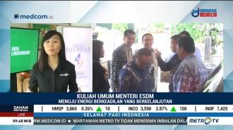 Menteri Jonan Beri Kuliah Umum di HUT ke-49 Media Indonesia