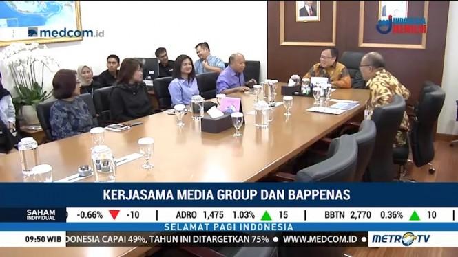 Bappenas Gandeng Media Group Sukseskan Pembangunan di Indonesia