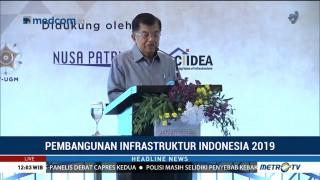 JK Tekankan Pembangunan di Indonesia Harus Visioner dan Efisien