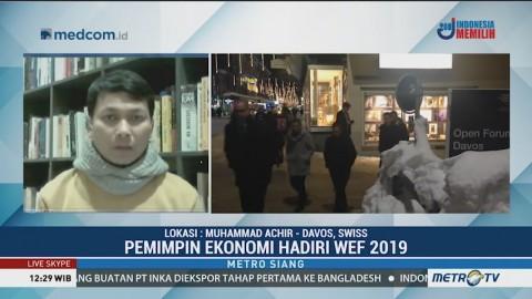Menko Maritim, Menperin, Menkominfo dan Ketua BKPM akan Hadiri WEF