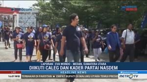 Surya Paloh Hadiri Konsolidasi Pemenangan Pemilu NasDem di Sumbar