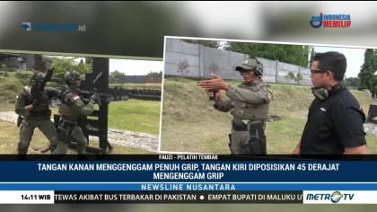 Latihan Tempur Ala Batalyon Intai Amfibi Marinir
