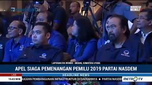Apel Siaga Pemenangan Pemilu 2019 Partai NasDem di Sumut