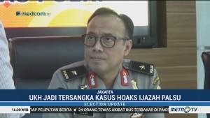 UKH Jadi Tersangka Hoaks Ijazah Palsu Presiden Jokowi