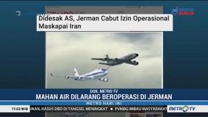 Jerman Larang Terbang Maskapai Iran