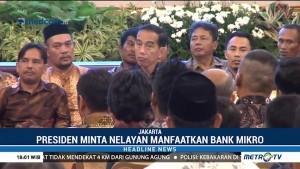 Jokowi Minta Nelayan Manfaatkan Bank Mikro