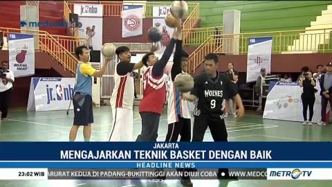 Ribuan Guru Ikuti Pelatihan Basket NBA