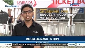 Indonesia Masters 2019 Jadi Daya Tarik Masyarakat