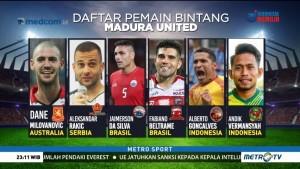 Skuat Bertabur Bintang Madura United