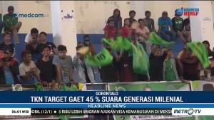 TKN Target Gaet 45% Suara Generasi Milenial