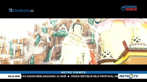 Patung Dewi Kwan Im di Vihara Nimmala Diresmikan