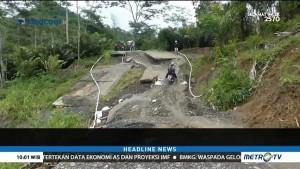 Jalan Penghubung antar Kecamatan di Banjarnegara Ambles