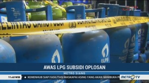 Polisi Bongkar Praktik Gas Oplosan di Cilangkap