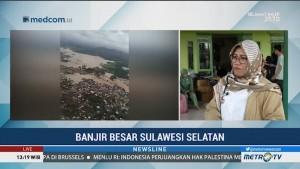 Sebagian Korban Banjir Makassar Masih Enggan Mengungsi