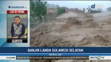Banjir di Jeneponto Tewaskan 2 Orang, 3 Hilang