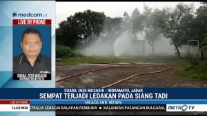Sumur Gas Pertamina di Indramayu Bocor, Warga Panik