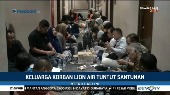Keluarga Korban Lion Air JT610 Tuntut Santunan