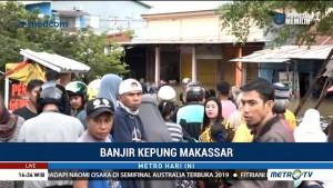 Dua Ribu Jiwa Jadi Korban Banjir di Kota Makassar