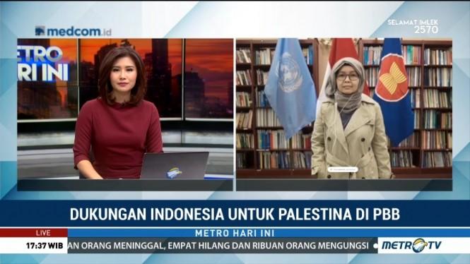 Palestina Apresiasi Dukungan Indonesia di Debat Terbuka DK PBB