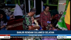 Korban Banjir di Masjid Al-Muttaqin Makassar Butuh Genset