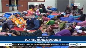 Ribuan Warga Gowa Mengungsi Akibat Banjir