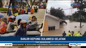 Banjir Kepung Sulawesi Selatan