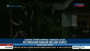 Ketinggian Banjir di Makassar Capai 3 Meter