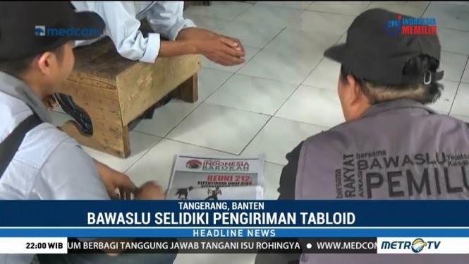 Bawaslu Sita Tabloid 'Indonesia Barokah' di Karawaci