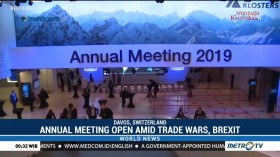 Davos Annual Meeting Open Amid Trade Wars, Slow Growth and Brexit