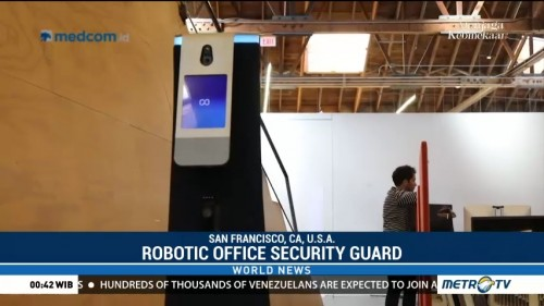 This Robot Security Guard Wants to Patrol Your Office
