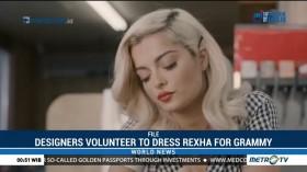 Designers Volunteer to Dress Rexha for Grammy