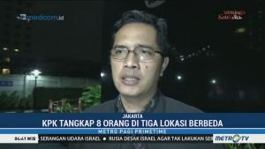 KPK Tangkap 8 Orang dalam OTT di Lampung