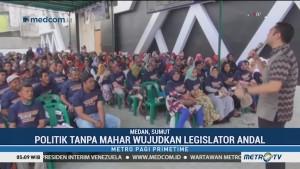 Prananda Paloh Silaturahmi dengan Warga Medan