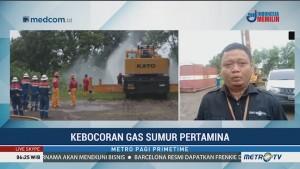 Kebocoran Sumur Gas Pertamina di Indramayu Berhasil Ditangani