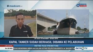 Jembatan 2 Barelang Batam Rusak Ditabrak Kapal Tanker