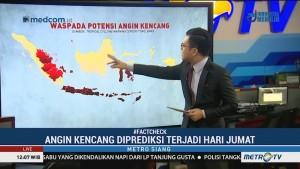 Waspada Cuaca Ekstrem Selama Januari
