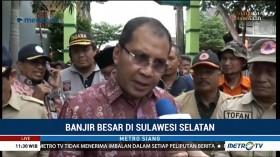 Wali Kota Makassar Tinjau Lokasi Banjir