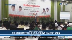 Ribuan Santri di Kudus Dukung Jokowi-Ma'ruf