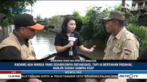 Mereka yang Berjibaku Mengevakuasi Korban Banjir Sulsel