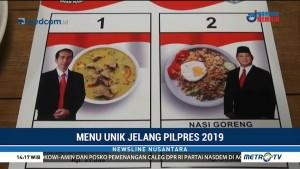 Menu Unik, Soto Jokowi dan Nasgor Prabowo Curi Perhatian