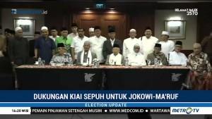 Dukungan Kiai Sepuh untuk Jokowi-Ma'ruf