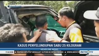 BNN Gagalkan Penyelundupan 25 Kg Sabu di Aceh