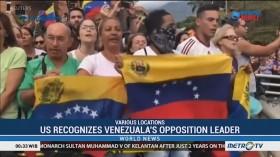 US Recognizes Venezuela's Opposition Leader As Interim President
